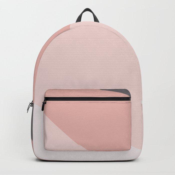 pink tone color palette Backpack
