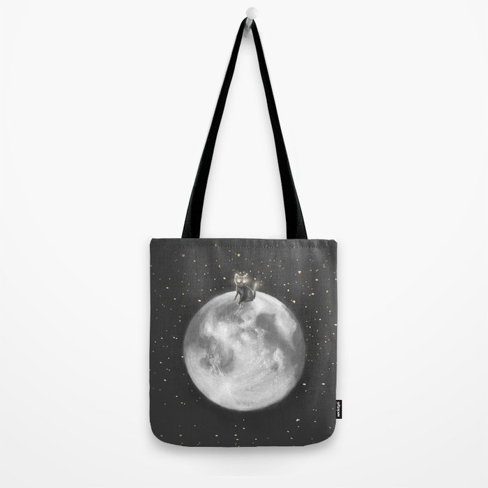 Lost in a Space / Moonelsh Tote Bag