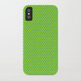 Picnic Pals mini dot in citrus iPhone Case
