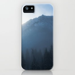 Winter Sunrise iPhone Case