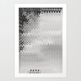 Glytch 12 Art Print