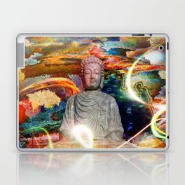 Budha in the Realm of Color Laptop & iPad Skin