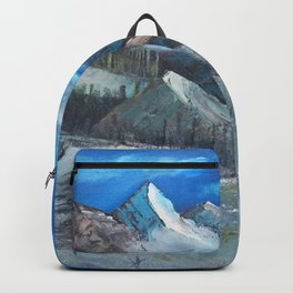 Cloudy Mountaintop Backpack