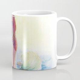 Nerissa - Mermaid watercolour painting Coffee Mug