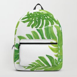 Tropic forest leaves Backpack