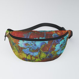 Hello blue poppies! Fanny Pack