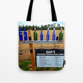 Gar's Weather Forecasting Stone Tote Bag