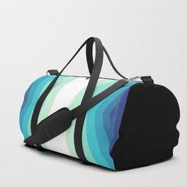 70s 80s Retro Colors Palette Blue 2 Duffle Bag