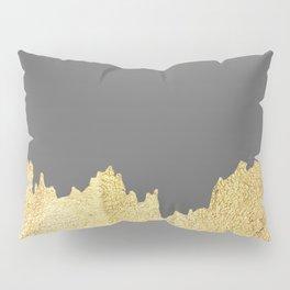 Golden brushstrokes II Pillow Sham