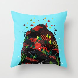 Majestic Outdoors Throw Pillow