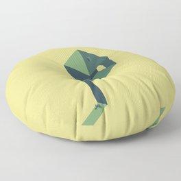 The doubt Floor Pillow