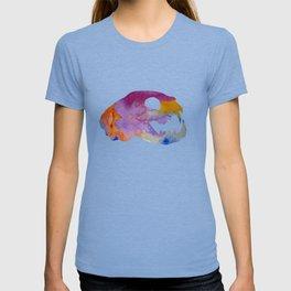 Cat Skull Art T-shirt