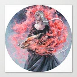 DragonFox Canvas Print