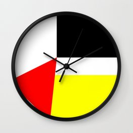 Ode to Piet Wall Clock