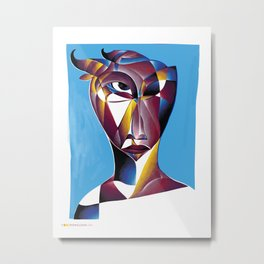 Element: Stone Metal Print