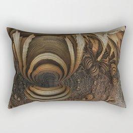 wood-chips Rectangular Pillow