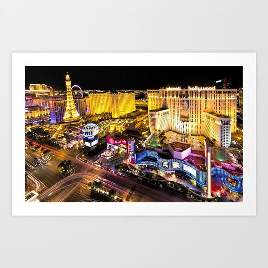 Las Vegas Nevada Skyline by historystuff