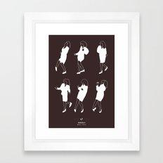 Seinfeld Framed Art Print