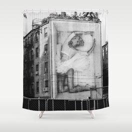East Village V Shower Curtain
