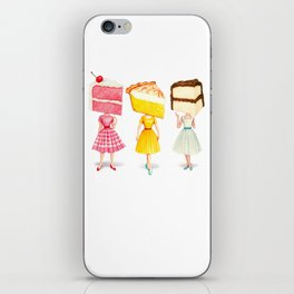 Cake Head Pin-Ups iPhone Skin
