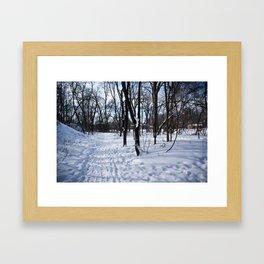 Winter in Minnesota Framed Art Print