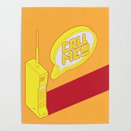 Motorola Dynatac Poster