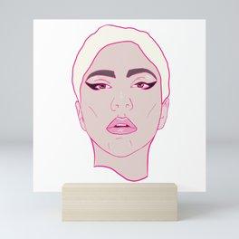 BORN THIS WAY Mini Art Print