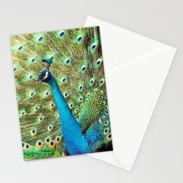 The Peacock. © J&S Montague. Stationery Cards