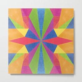 Rainbow sparkles Metal Print