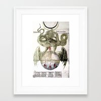alchemy Framed Art Prints featuring Alchemy by anipani