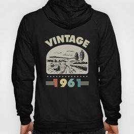 Birthday Gift Vintage 1961 Classic Hoody