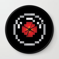 2001 Wall Clocks featuring 2001: A Pixel Odyssey by Eric A. Palmer