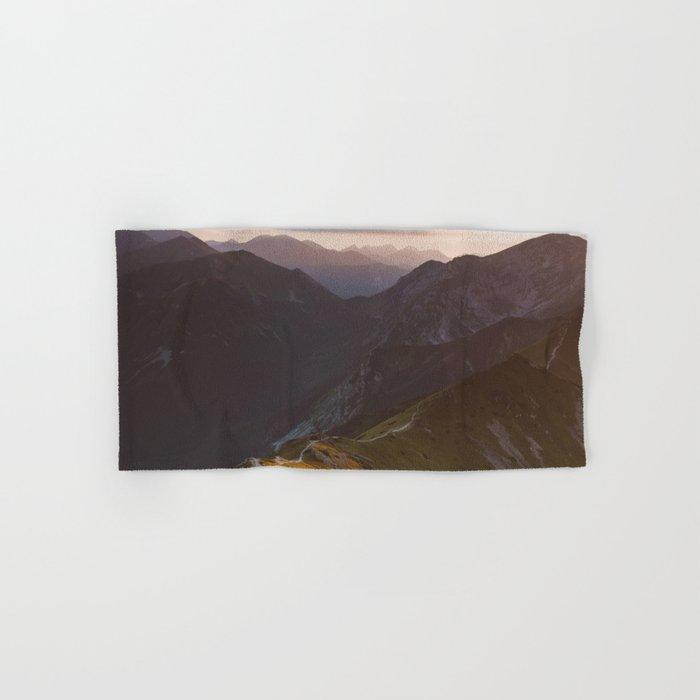 Before sunset - Landscape and Nature Photography Hand & Bath Towel
