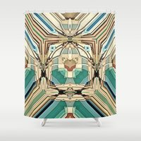 supreme Shower Curtains featuring Supreme by David Lee