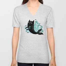 Undersea (Mint Remix) Unisex V-Neck
