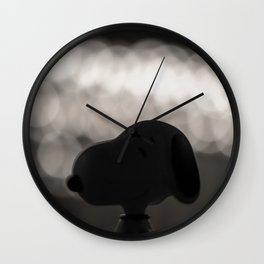 Snoopy Bokeh Wall Clock
