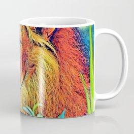AnimalColor_Lion_005_by_JAMColors Coffee Mug