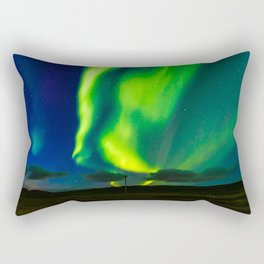 Looking for the light - Iceland Rectangular Pillow