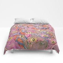 Flowercrown beauty Comforters