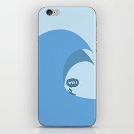 WTF? Surf! iPhone Skin