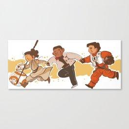 rebels squad Canvas Print