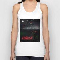 fallout Tank Tops featuring Fallout Pixels by Kazisvet