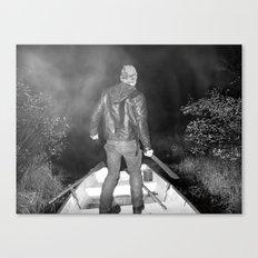Black Lake Adventure Canvas Print