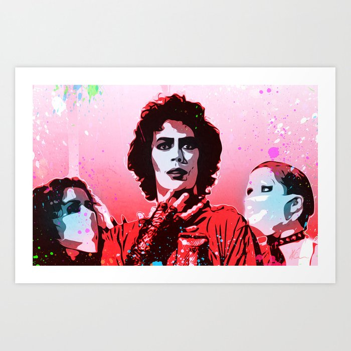 The Rocky Horror Picture Show - Pop Art Kunstdrucke