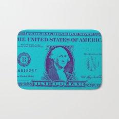 BLUE MONEY Bath Mat