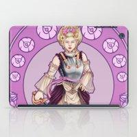 marie antoinette iPad Cases featuring Marie Antoinette by Sara Poveda