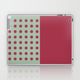 """Pink and Aquamarine Pastel Pattern, Marilyn"" Laptop & iPad Skin"