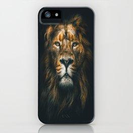 Lion ,animal iPhone Case