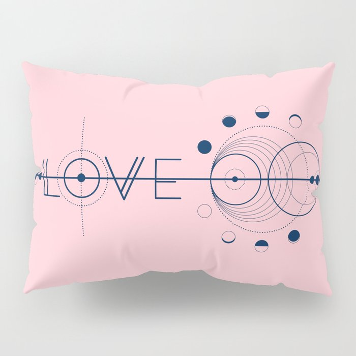 Love Cosmic Arrow Pillow Sham