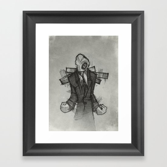Wraith II. Framed Art Print